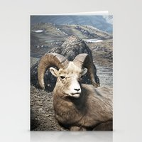 Tom Feiler Sitting Ram Stationery Cards