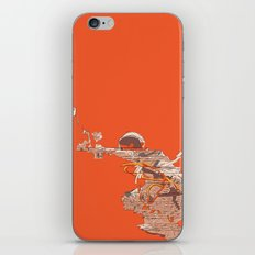 Tangerine Astronaut iPhone & iPod Skin