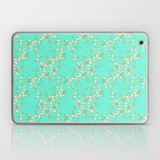 Petite Paisley in Aqua Laptop & iPad Skin