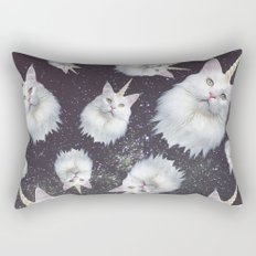 Unicorn Cat Rectangular Pillow
