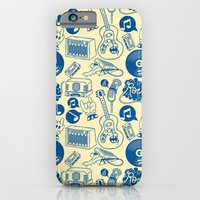 iPhone & iPod Case featuring Musical Monsters by Matheus Costa