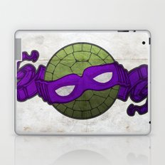 the purple turtle Laptop & iPad Skin