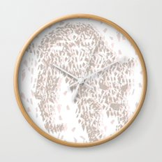Broken Jaguar Wall Clock