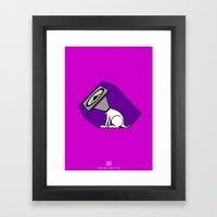 Wireless Woofer Framed Art Print