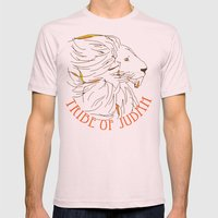 Judah Mens Fitted Tee Light Pink SMALL