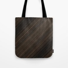 Ebony Macassar Wood Tote Bag