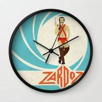 Agent Zardoz Wall Clock