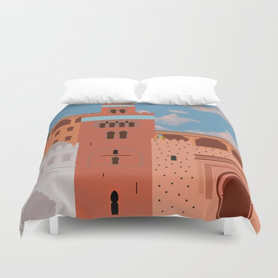 Moroccan Arch Duvet Cover