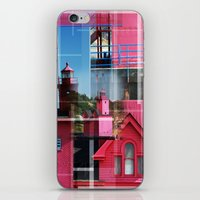 Lighthouse At Holland Pa… iPhone & iPod Skin