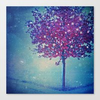 SONG OF THE WINTERBIRD Canvas Print