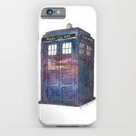 Doctor Who Galaxy Tardis iPhone 6 Slim Case