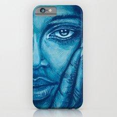 look at me-blue iPhone 6s Slim Case