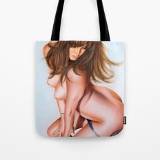 Nude girl 1 color Tote Bag