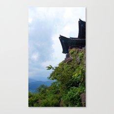 Temple Sasung 5 Canvas Print