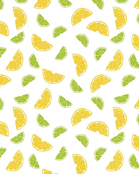 Citrus Sours Art Print