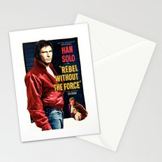 Rebel Without the Force Stationery Cards