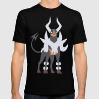 M-Houndoom Mens Fitted Tee Black SMALL