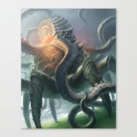 Creature From The Abyss Canvas Print