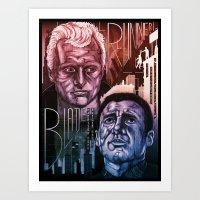 Blade Runner 30th Annive… Art Print