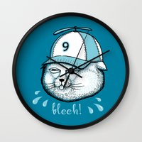 I Have 9 Lives, So Bleeh… Wall Clock