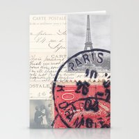 Postale Paris Stationery Cards