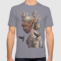 Hare And Sparrow Full Co… Mens Fitted Tee Slate SMALL