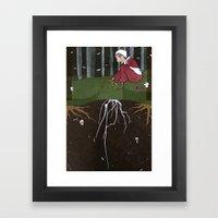 Baba Yaga: Life Framed Art Print