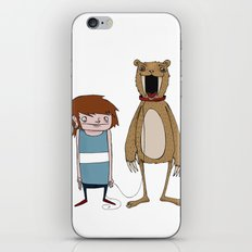 Pet Bear iPhone & iPod Skin