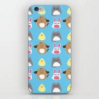Cute animals iPhone & iPod Skin