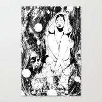 B & W  No.5 Canvas Print