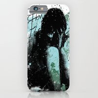 iPhone & iPod Case featuring In Pieces by Fiction Design