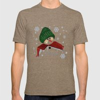 Let's Build A Snowman, L… Mens Fitted Tee Tri-Coffee SMALL