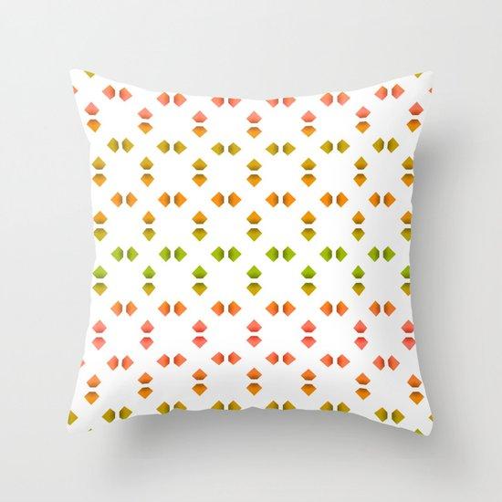 spring pattern   Throw Pillow