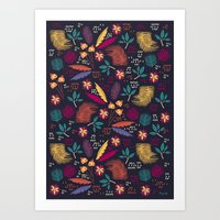 Tropical Forest  Art Print