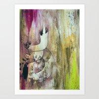 Purple Heart In Times Of… Art Print