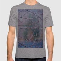 Spring Rain Mens Fitted Tee Athletic Grey SMALL