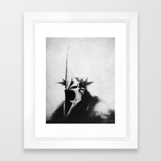 WITCH-KING Framed Art Print