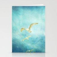 brighton seagulls Stationery Cards