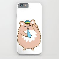 iPhone & iPod Case featuring Animal Police - Pomeranian by Tetchan
