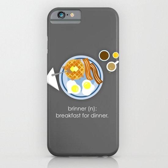 Brinner iPhone & iPod Case