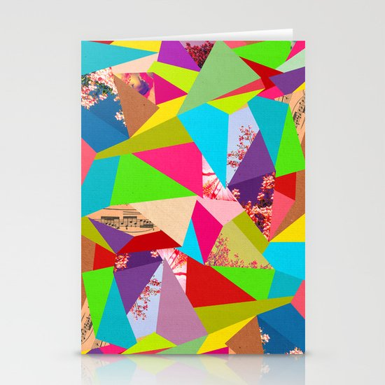 Colorful Thoughts Stationery Card