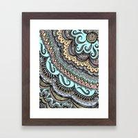 Blackbook No. 3 (Color) Framed Art Print