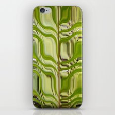 Abstract Germination iPhone & iPod Skin