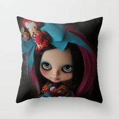 MODERN GEISHA CUSTOM BLYTHE DOLL KENNER  Throw Pillow