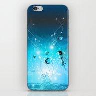 Cute Elf In Blue iPhone & iPod Skin