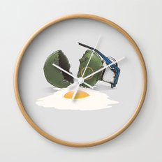 Eggsplosion Wall Clock