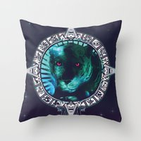 PanteraPlanetario Throw Pillow