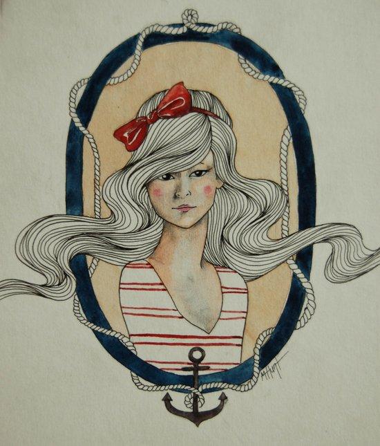 Nautical Nonsense Art Print