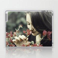 The Flower Lady Laptop & iPad Skin