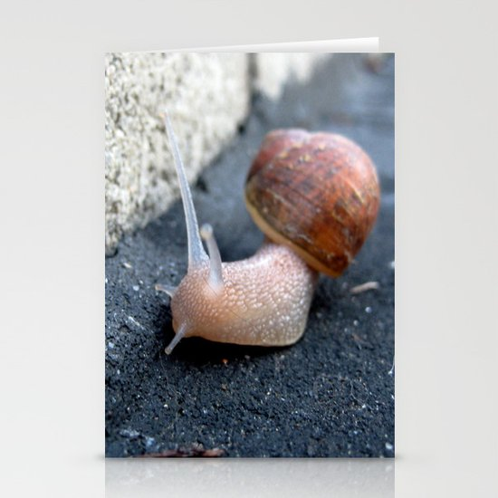 Feeling Sluggish Stationery Card